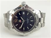 GENT'S TAG HEUER STAINLESS STEEL AQUARACER